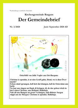 Gemeindebrief Archiv 2020