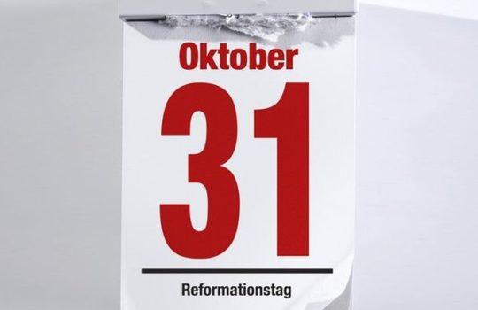 Konfirmationen am Reformationstag